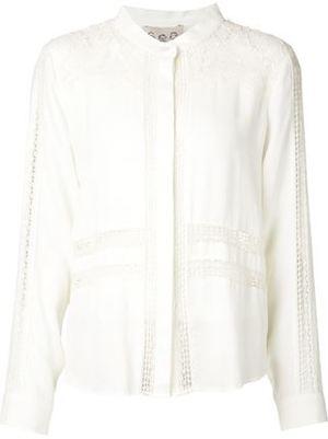 芸能人がガル ボCMで着用した衣装ホワイト ブラウス