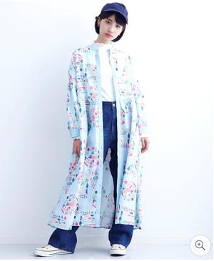 芸能人池田こはる・カレーショップ店員があなたには帰る家があるで着用した衣装ワンピース