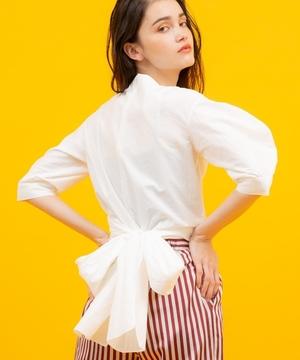 芸能人枝川梢・バー責任者が崖っぷちホテル!で着用した衣装シャツ / ブラウス