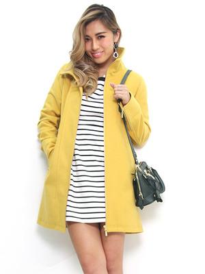 芸能人が地獄先生ぬ~べ~で着用した衣装黄色のコート