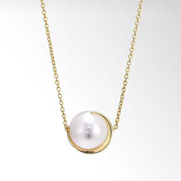 STAR JEWELRYのPEARL MOON NECKLACE(S)