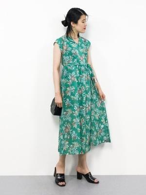 芸能人が高嶺の花で着用した衣装ワンピース