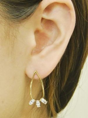 芸能人が私の人生なのにで着用した衣装ピアス(両耳用)