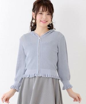 芸能人橘穂香・バレエ経験者がチア☆ダンで着用した衣装パーカー