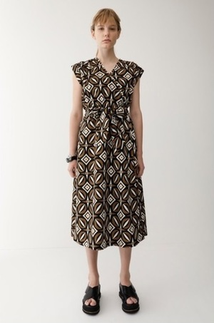 moussyのETHNIC N/S WRAP DRESS