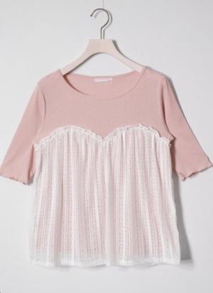 芸能人橘穂香・バレエ経験者がチア☆ダンで着用した衣装Tシャツ