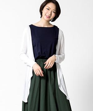 芸能人花田舞子・劇団の看板女優がいつかこの雨がやむ日までで着用した衣装カーディガン