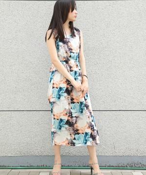 芸能人今村佳代子・喫茶店のママが高嶺の花で着用した衣装ワンピース