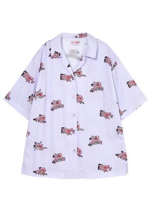 芸能人がTwitterで着用した衣装シャツ