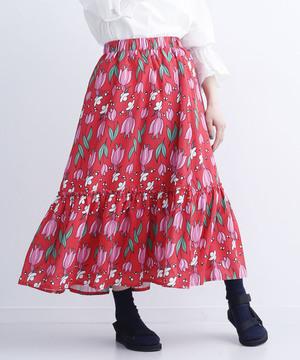 芸能人阿部律音・一華の友達で女子大生が探偵が早すぎるで着用した衣装スカート