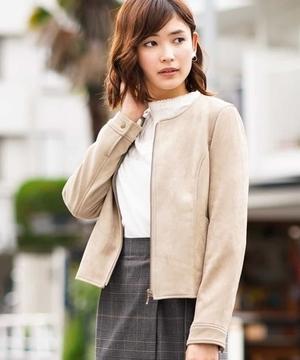 芸能人松平貴子・老舗ホテルオーナーの長女がハゲタカで着用した衣装ライダースジャケット
