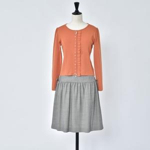 芸能人蒲生駒子・校長がチア☆ダンで着用した衣装カーディガン