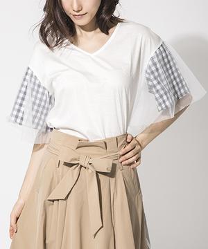 芸能人三上沙耶・和也の恋人がいつかこの雨がやむ日までで着用した衣装Tシャツ