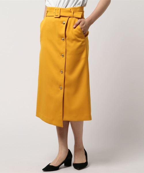 ANAYIのダブルツイルラップスカート