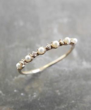 芸能人杉優子・編集部員でワーママがサバイバル・ウェディングで着用した衣装指輪
