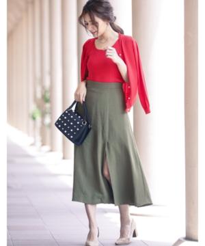 芸能人が東京らふストーリーで着用した衣装スカート