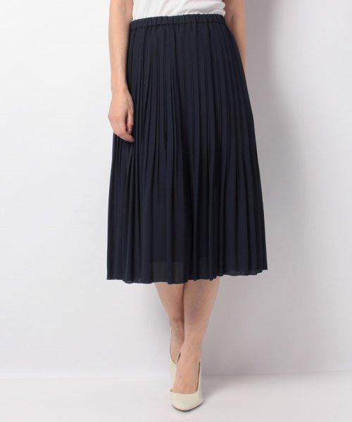 ANAYIのジョーゼットプリーツスカート