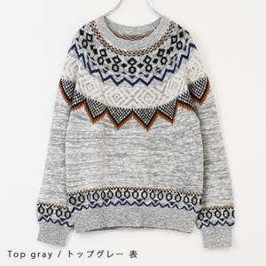 芸能人が鈴木家の嘘で着用した衣装ニット/セーター