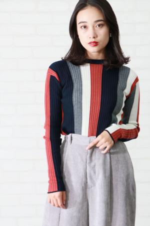 芸能人がBE-BOP SPORTSで着用した衣装ニット/セーター