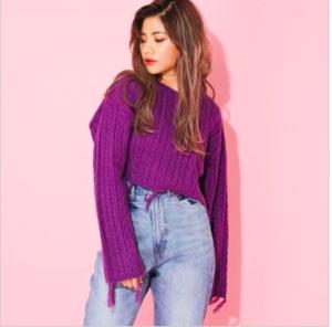 芸能人がBIG ONE GIRLSで着用した衣装ニット/セーター