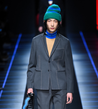 芸能人がめざましテレビで着用した衣装ジャケット、パンツ、ニット
