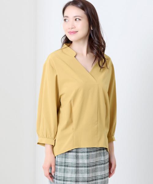 MEW'S REFINED CLOTHESのルーズとろみシャツ
