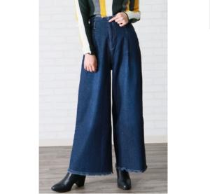 芸能人がUS POLO ASSN 広告で着用した衣装デニムパンツ