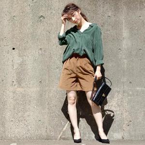 芸能人がSUITS/スーツで着用した衣装ショートパンツ