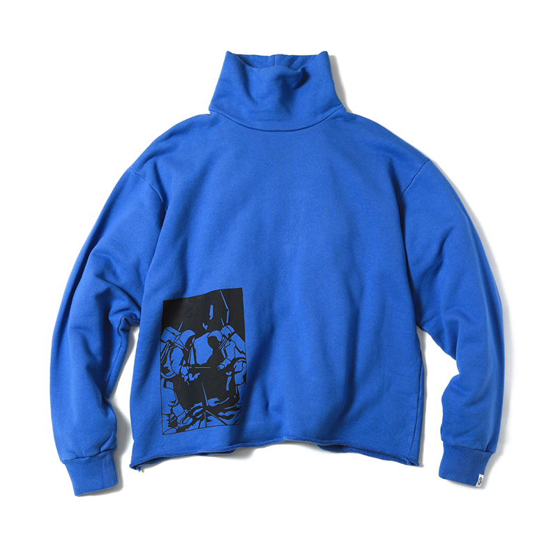 BILLIONAIRE BOYS CLUBのOVERDYED TURTLENECK SWEATSHIRT