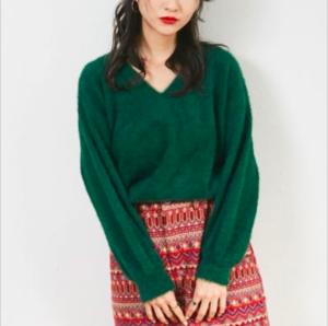 芸能人が天空のスペクタクル~オーロラ・四季の絶景~で着用した衣装ニット/セーター
