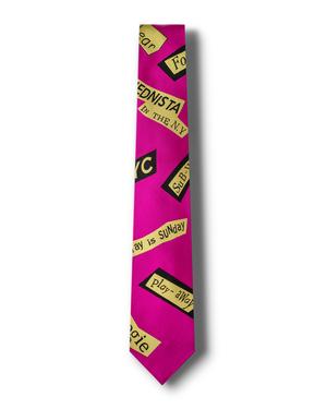 芸能人がスキャンダル専門弁護士 QUEENで着用した衣装ネクタイ