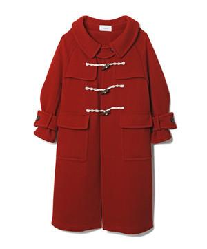 芸能人がトレース~科捜研の男~で着用した衣装赤いダッフルコート