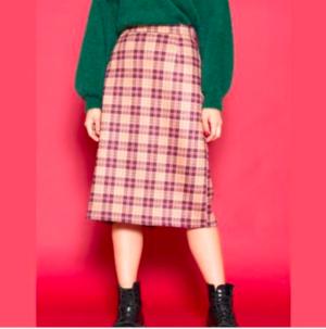 芸能人がプライムニュースイブニングで着用した衣装スカート