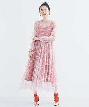芸能人がデザイナー渋井直人の休日で着用した衣装ワンピース