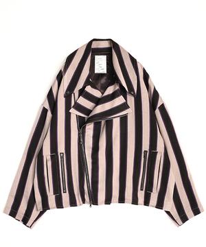芸能人がパーフェクトクライムで着用した衣装ライダースジャケット