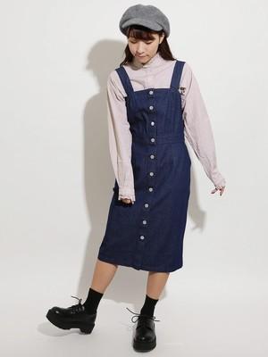芸能人がパーフェクトクライムで着用した衣装ジャンパースカート