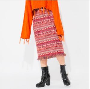 芸能人がアツ姫で着用した衣装スカート