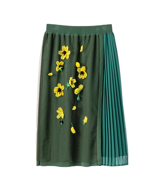 MUVEILのアネモネニットスカート