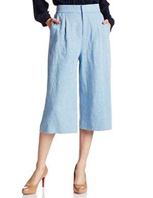 芸能人がペットの王国ワンダランドで着用した衣装パンツ