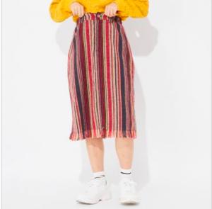 芸能人がMiRuで着用した衣装スカート