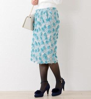 芸能人がパーフェクトクライムで着用した衣装スカート