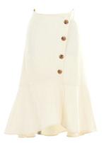 FEERICHELUのスコッチボタン マーメイド スカート