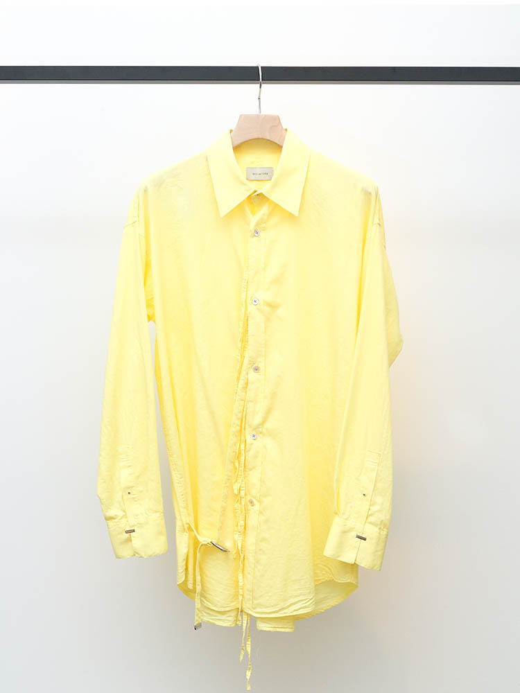 BED J.W. FORDのRibbon shirt