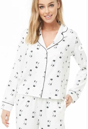 芸能人が初めて恋をした日に読む話で着用した衣装パジャマ