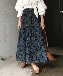 芸能人がしゃべくり007で着用した衣装スカート、シューズ、ブラウス