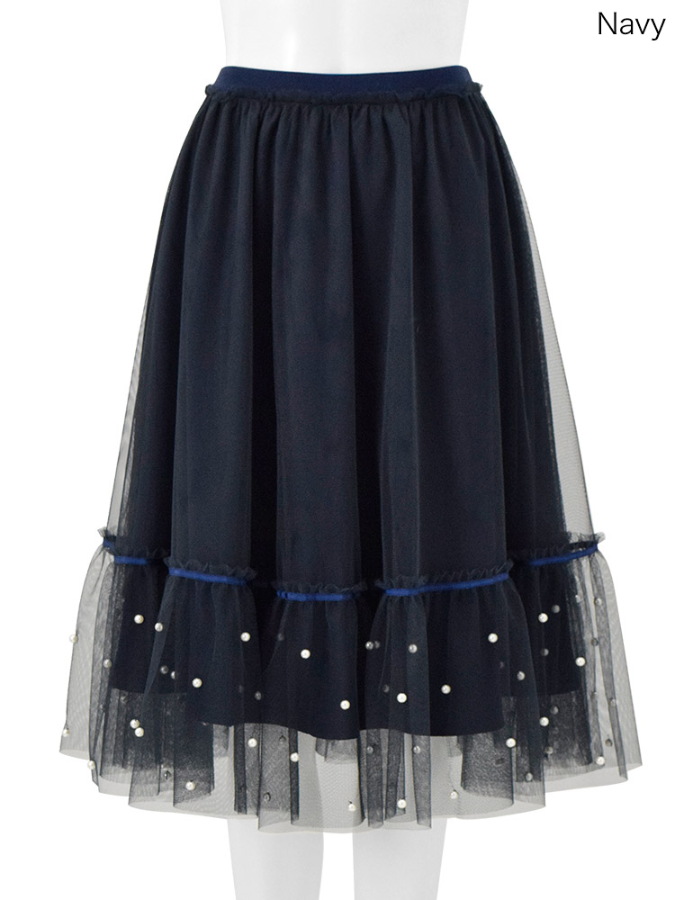 ChestyのPearl Tulle Skirt
