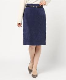 JUSGLITTYのNEWベルト付きタイトスカート