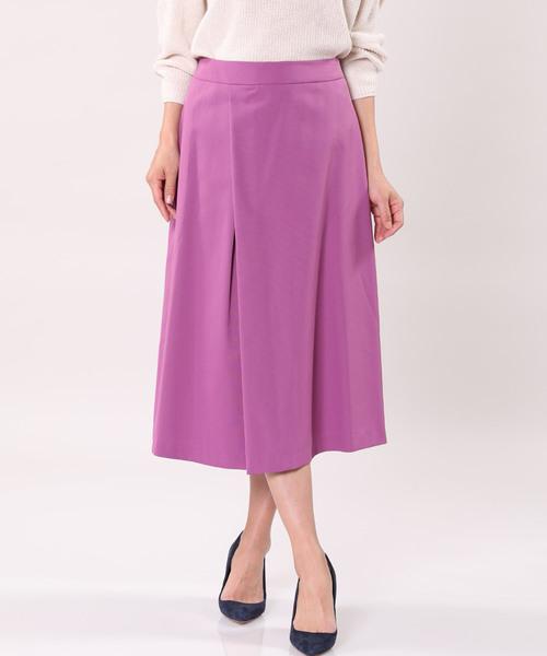 INEDのミモレ丈フレアスカート