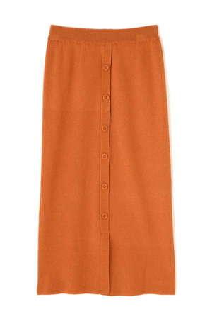 N.(N. Natural Beauty Basic)のコットンリブニットセットアップスカート