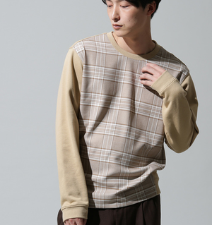 芸能人がパーフェクトワールドで着用した衣装スウェット